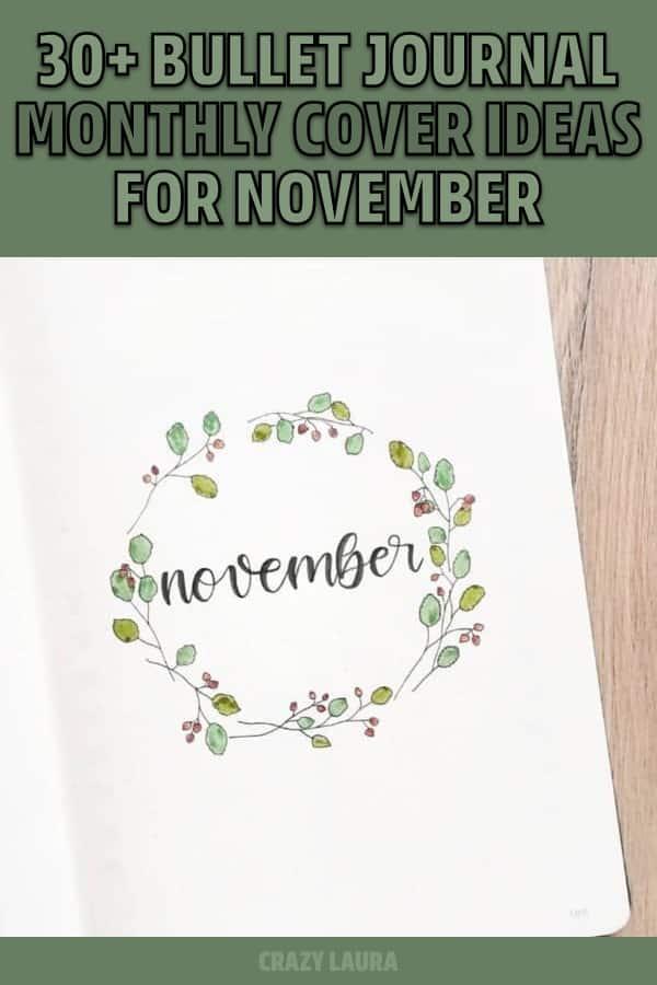ideas for november cover spread