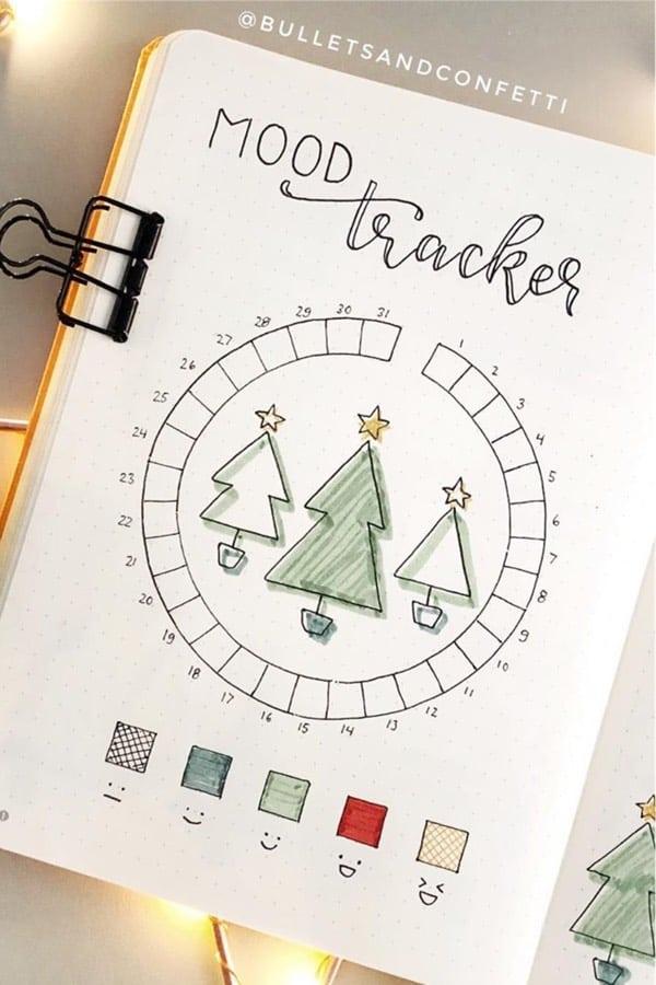best feelings tracker ideas for december