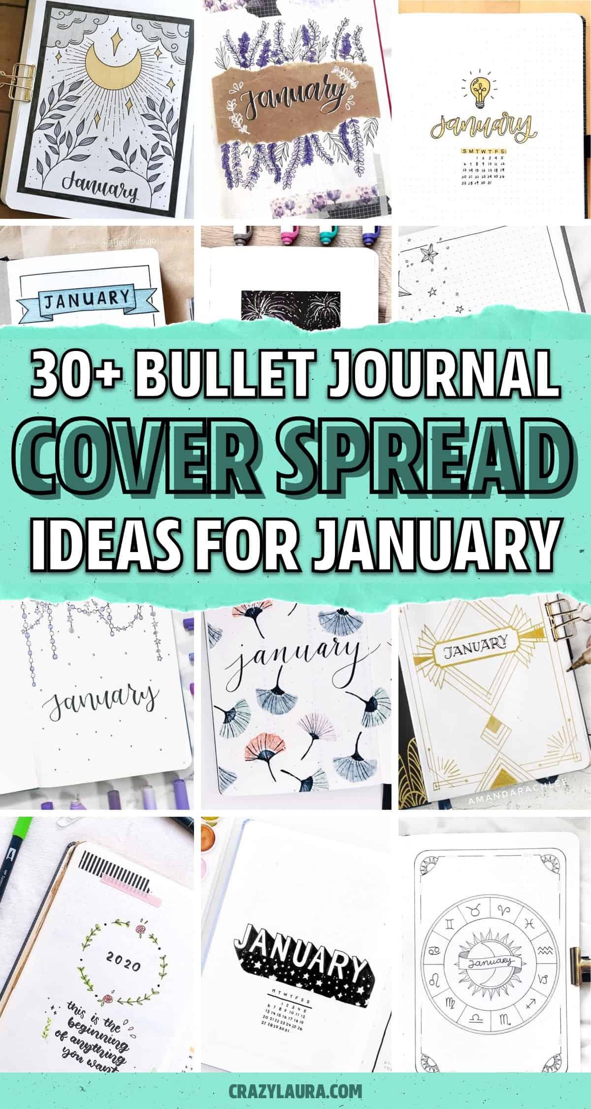 cover spread inspo for jan bujos