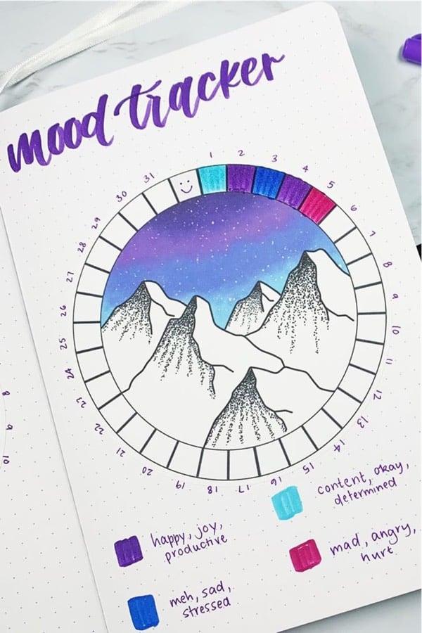 feelings tracker for winter