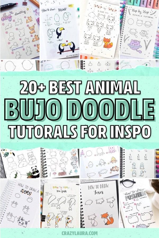 animal journal decoration inspiration