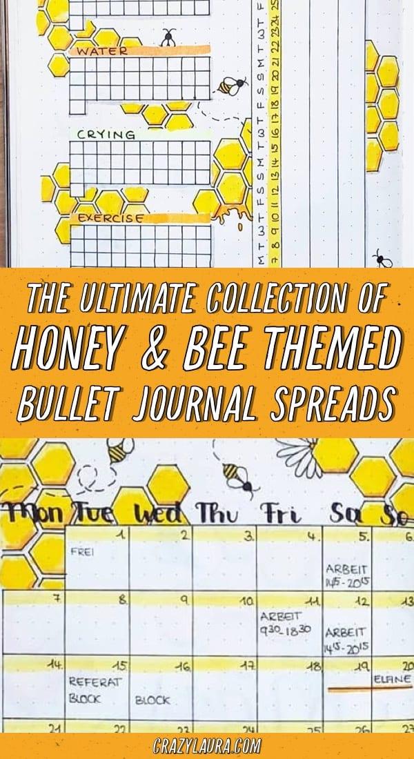 best honey bee ideas for bujo