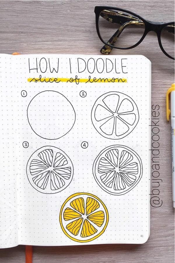 doodle tutorial for lemons