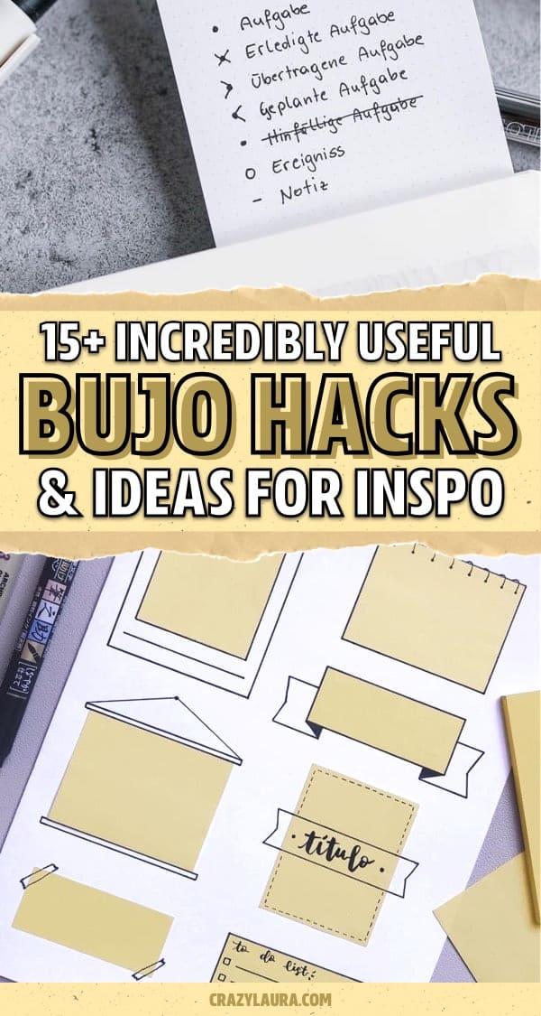 creative bujo hack examples