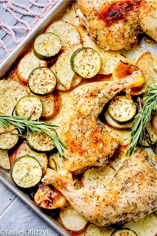 easy chicken sheet pan meal for the family