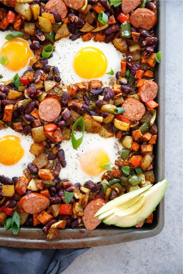 breakfast sheet pan recipe