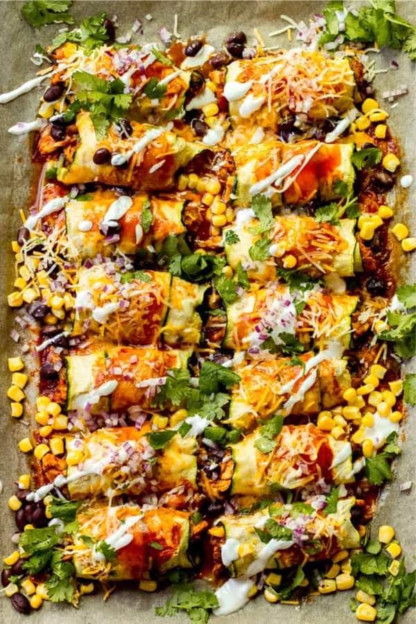 chicken enchilada pan recipe