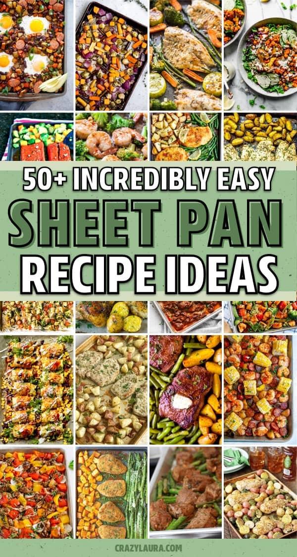 fast one pan recipe ideas