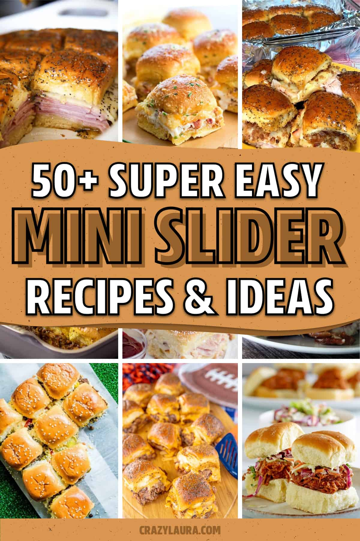 game day slider recipe ideas to make