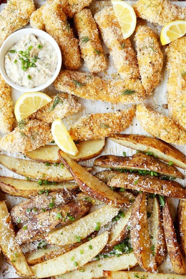 quick fish and chip recipe for weeknight