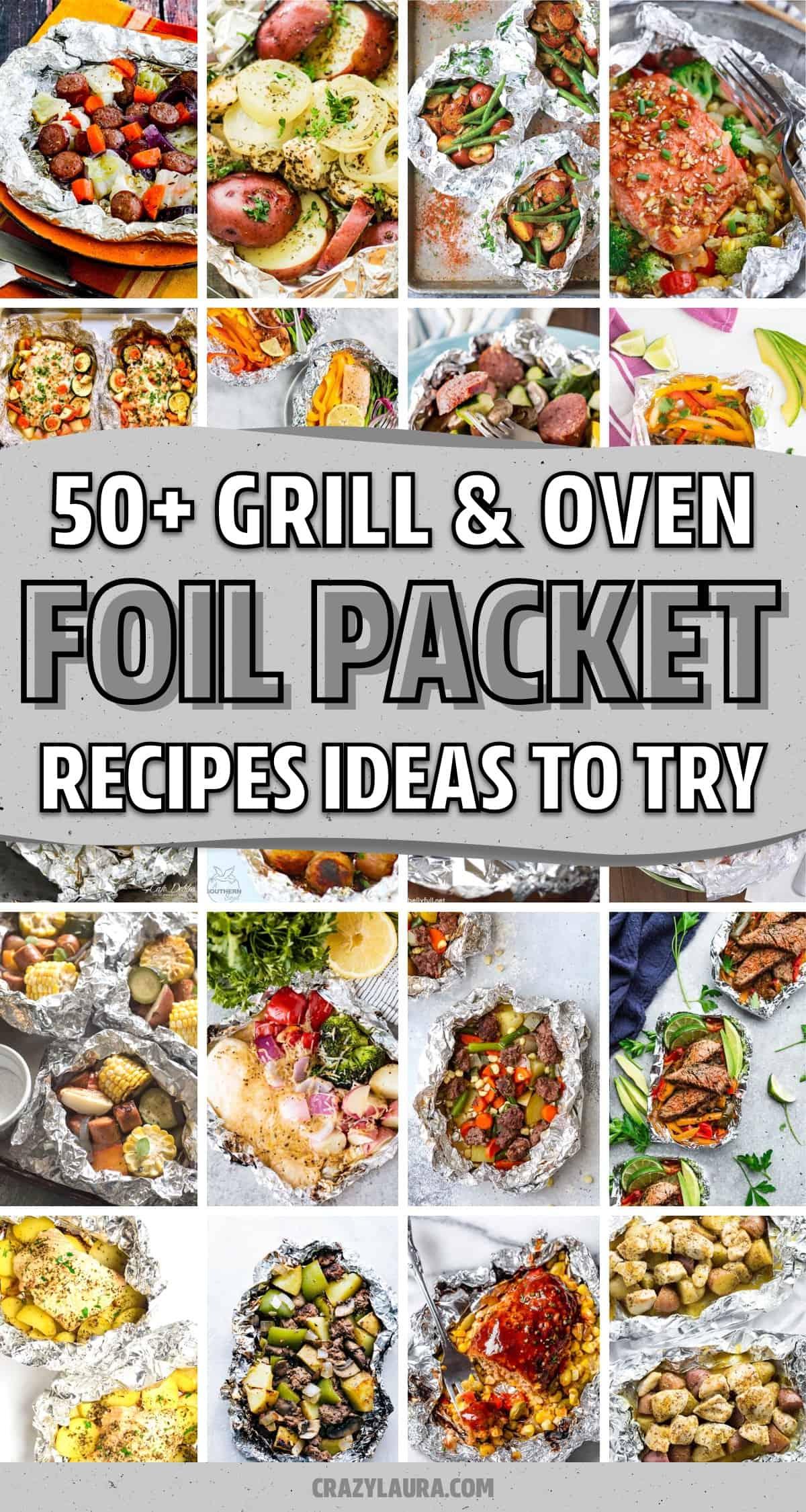 easy tin foil one pan recipes