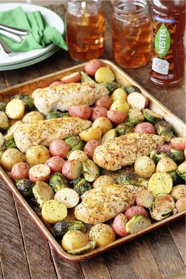 best busy night chicken dinner recipe