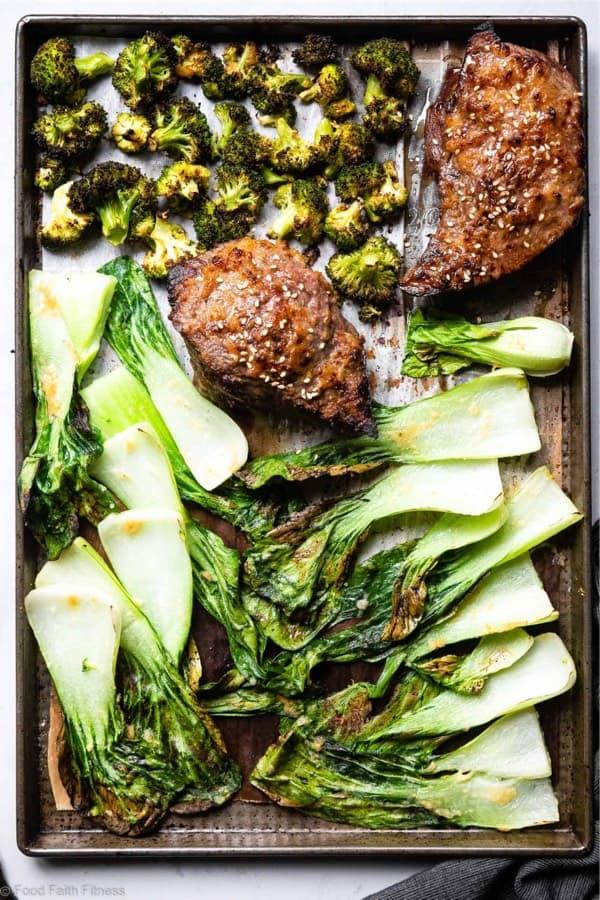 low carb sheet pan dinner recipe