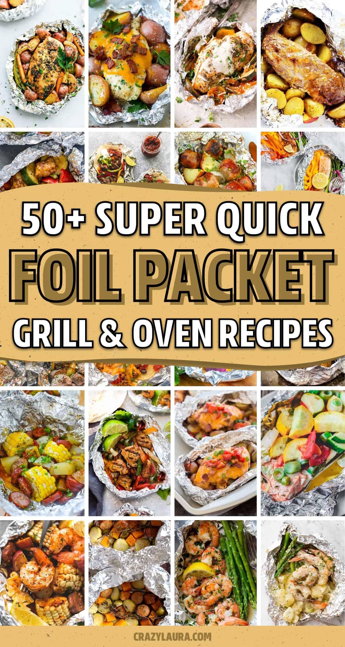 quick foil packet food ideas