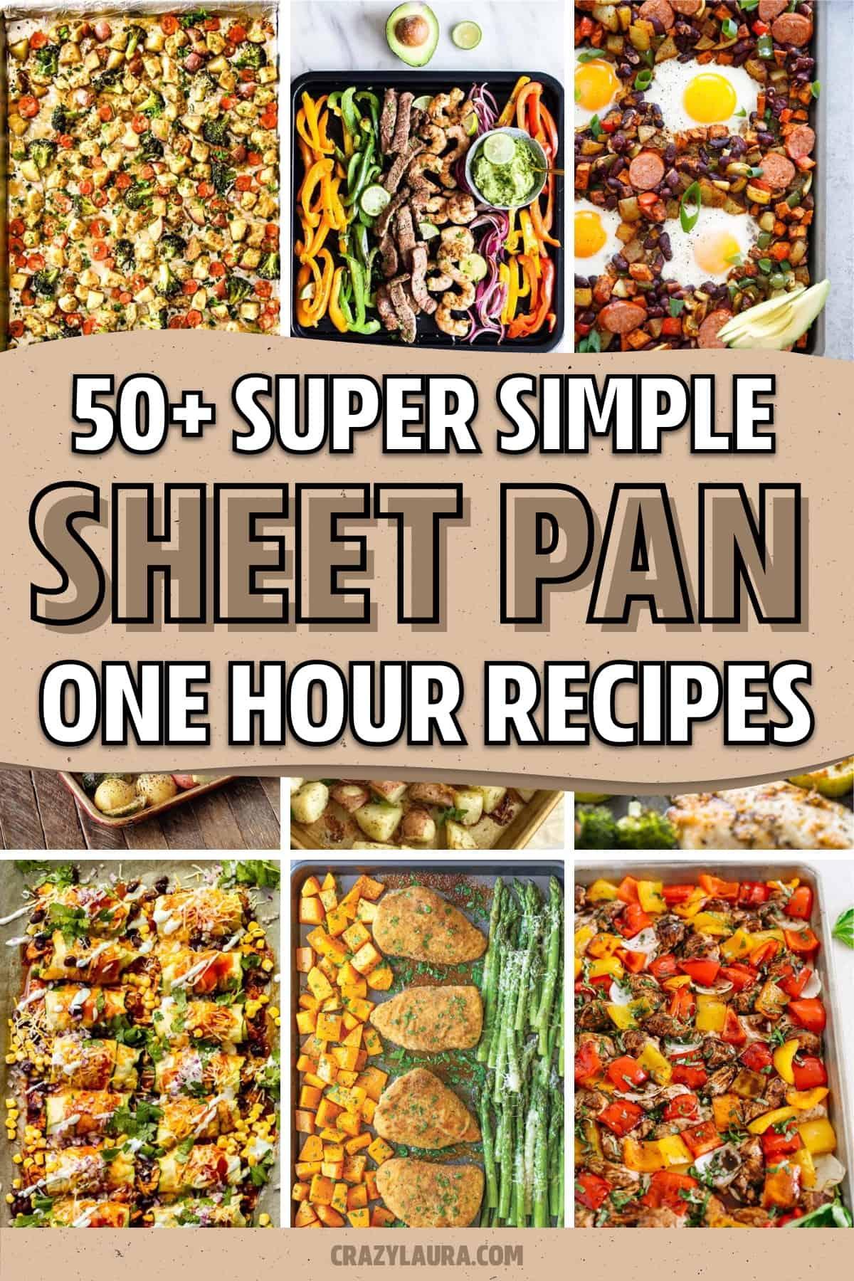 cheap sheet pan dinner recipe ideas