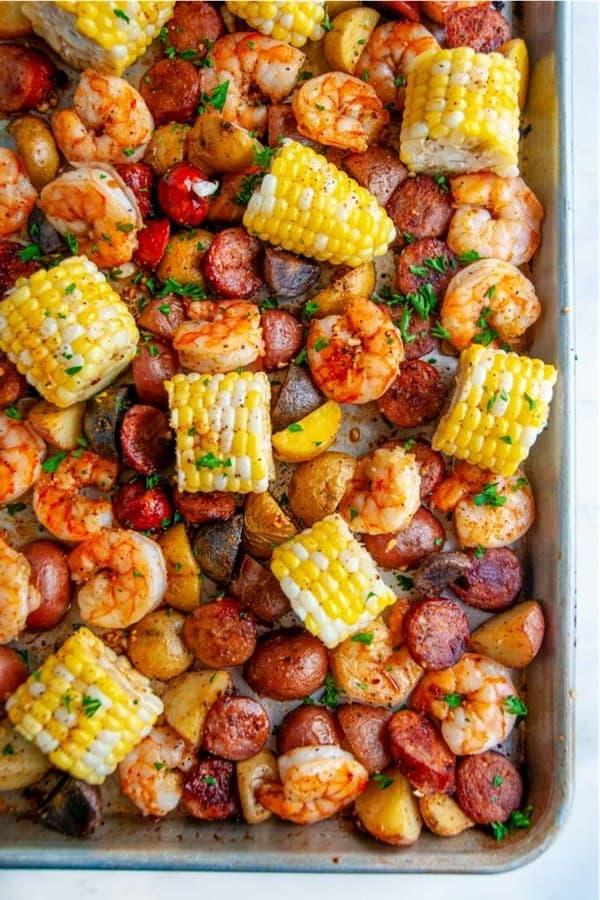 shrimp boil single sheet recipe