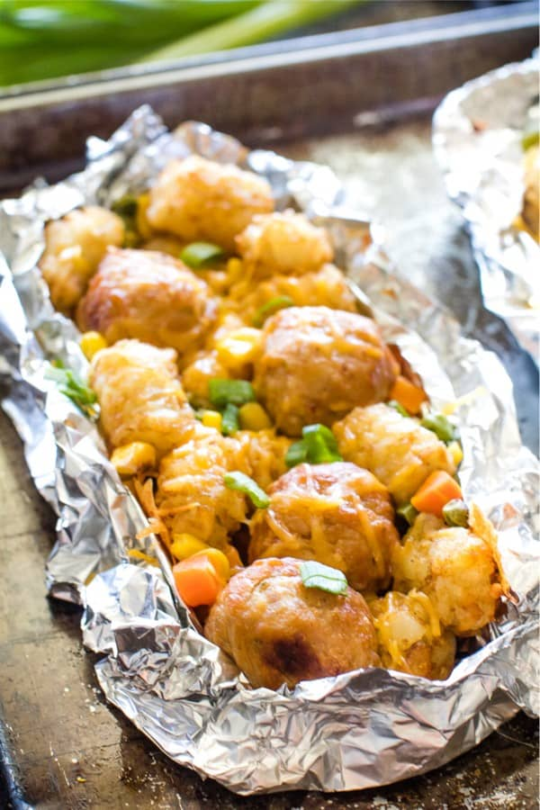 tater tot and meatball recipe