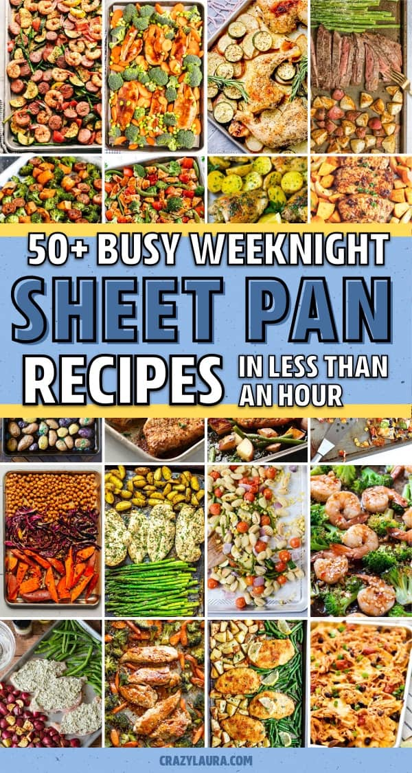 weeknight sheet pan dinner ideas
