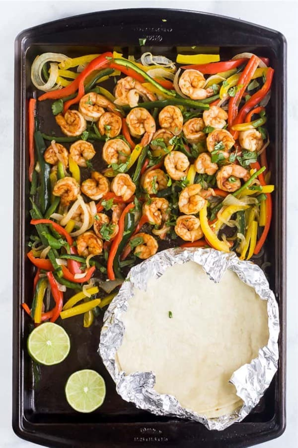 best sheet pan recipe with shrimp