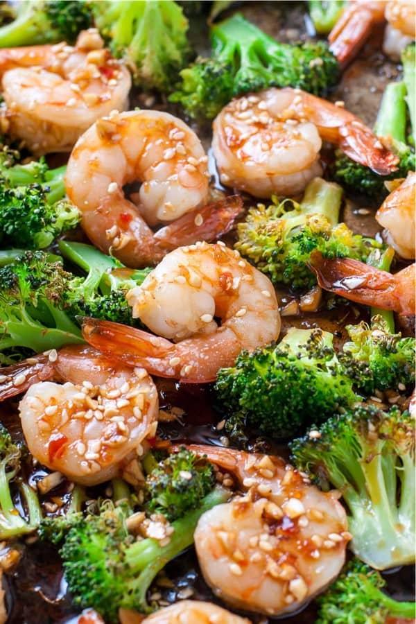 fast shrimp and broccoli dinner recipe