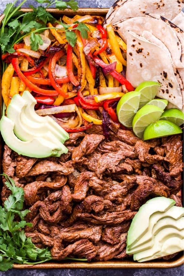 easy steak fajita family dinner recipe