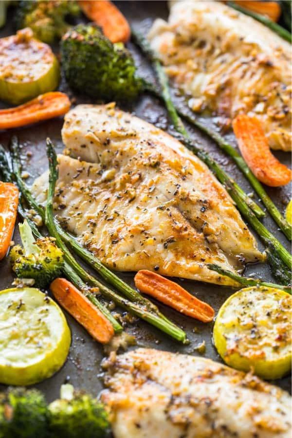 single pan fish recipe for dinner