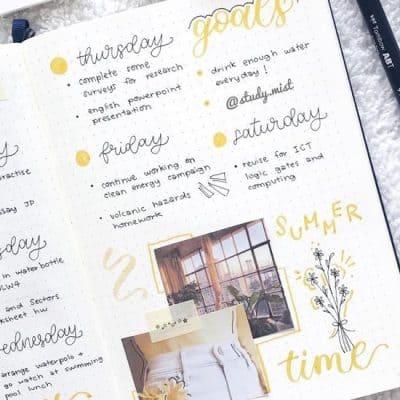 best daisy themed spread inspiration