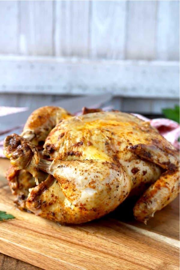 super quick pressure cooker chicken
