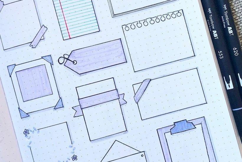 Best Bullet Journal Paper Note Doodles For Inspiration