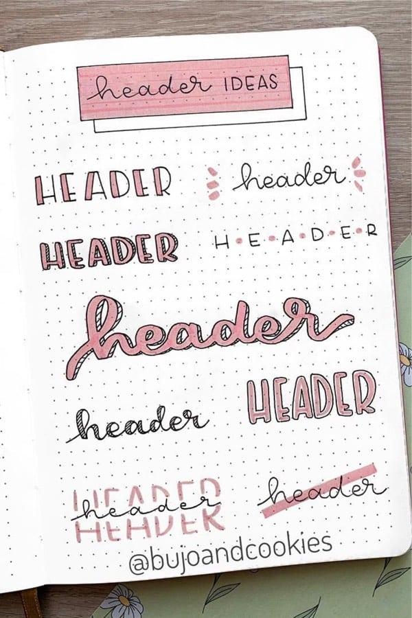 header doodle spread for spring