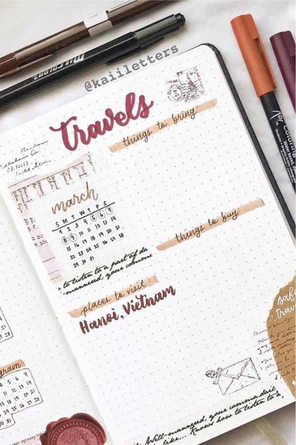 best scrap journal spread ideas