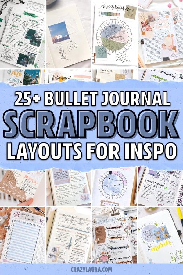 best craft paper bullet journal spreads