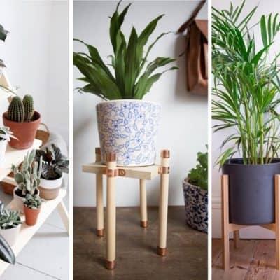 easy tutorial ideas for diy plant holders
