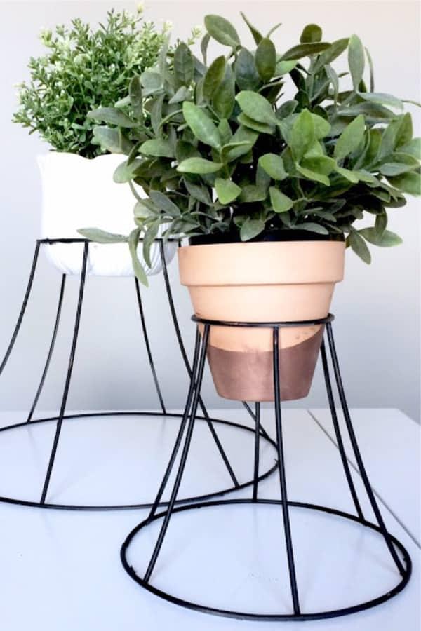 outdoor metal plant holder tutorial