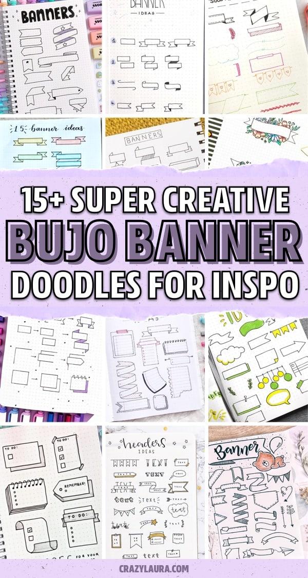 heading banner doodle ideas