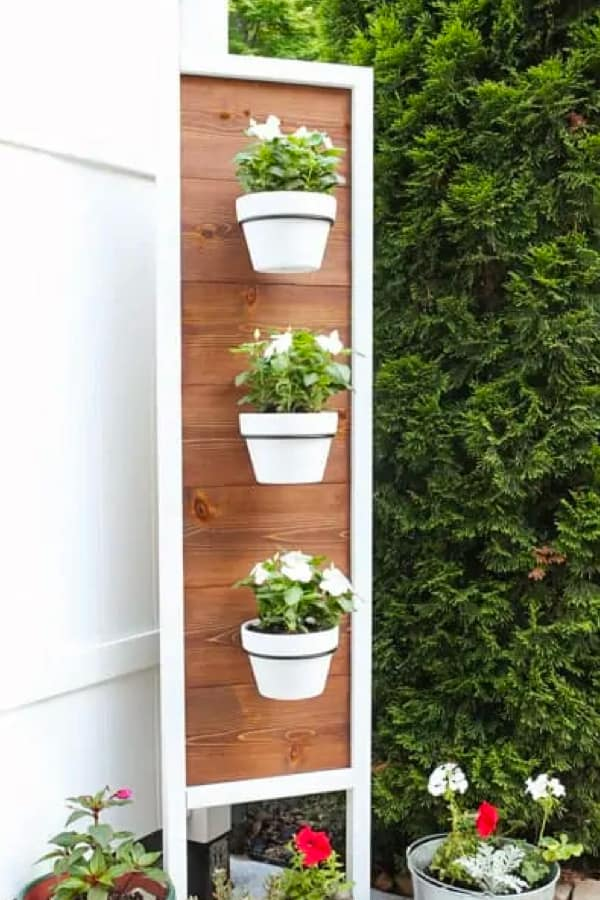 vertical plant holder tutorial