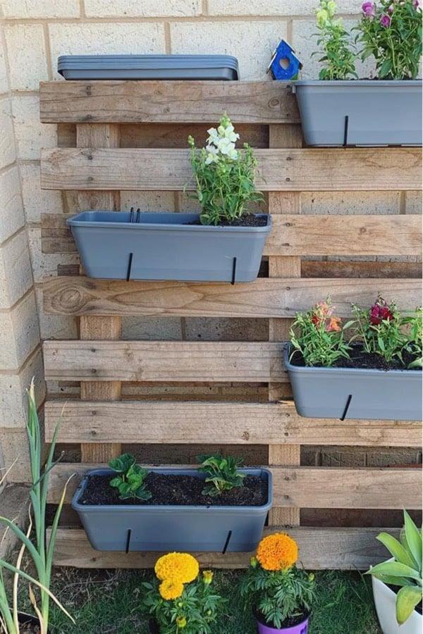 side yard vertical garden ideas
