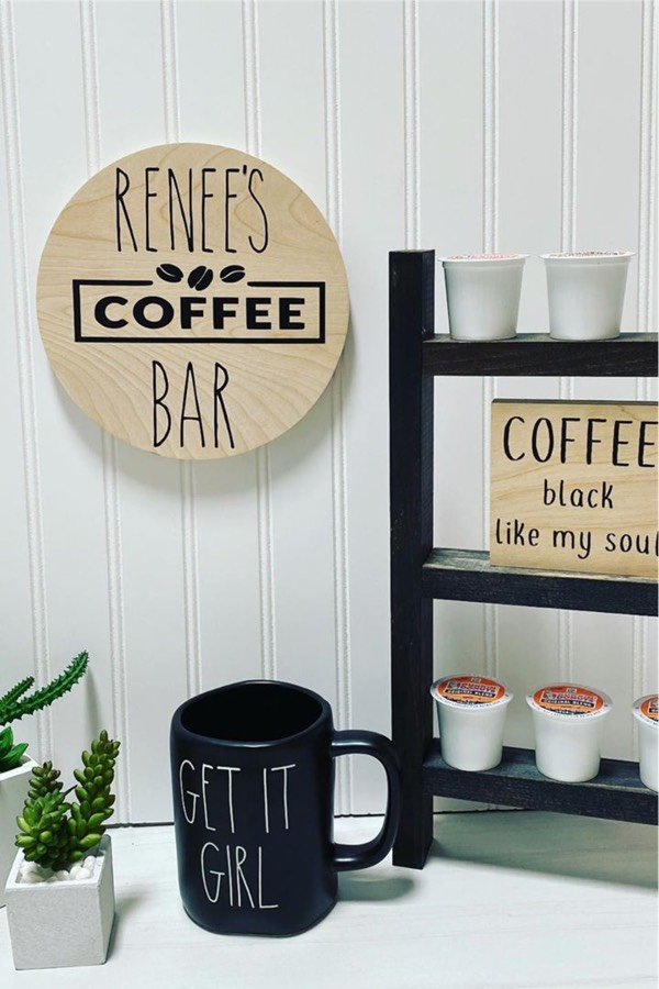 easy coffee bar for k cups