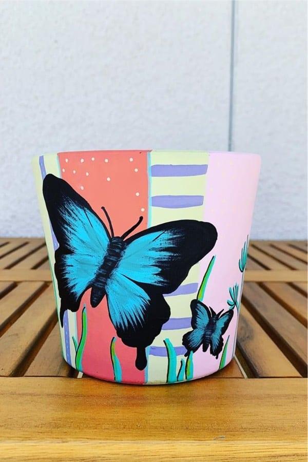painted terra cotta pot ideas