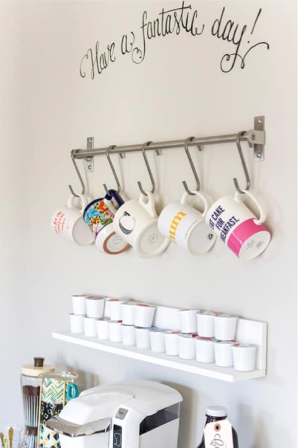 ikea coffee bar inspiration