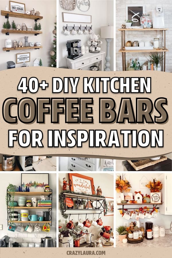 coffee bar examples for the kitchen