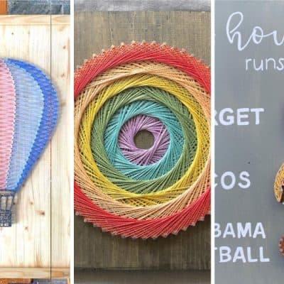 list of string art craft tutorials