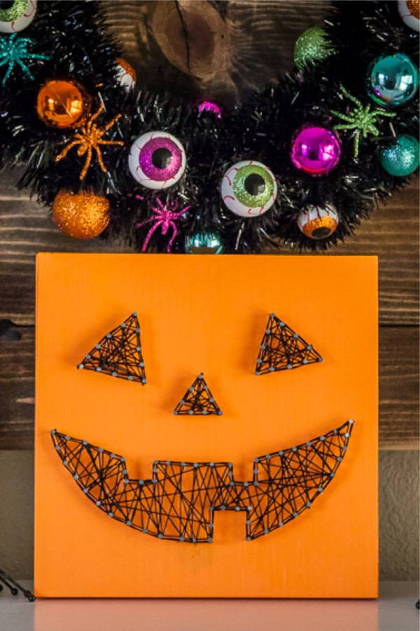 halloween string art inspiration