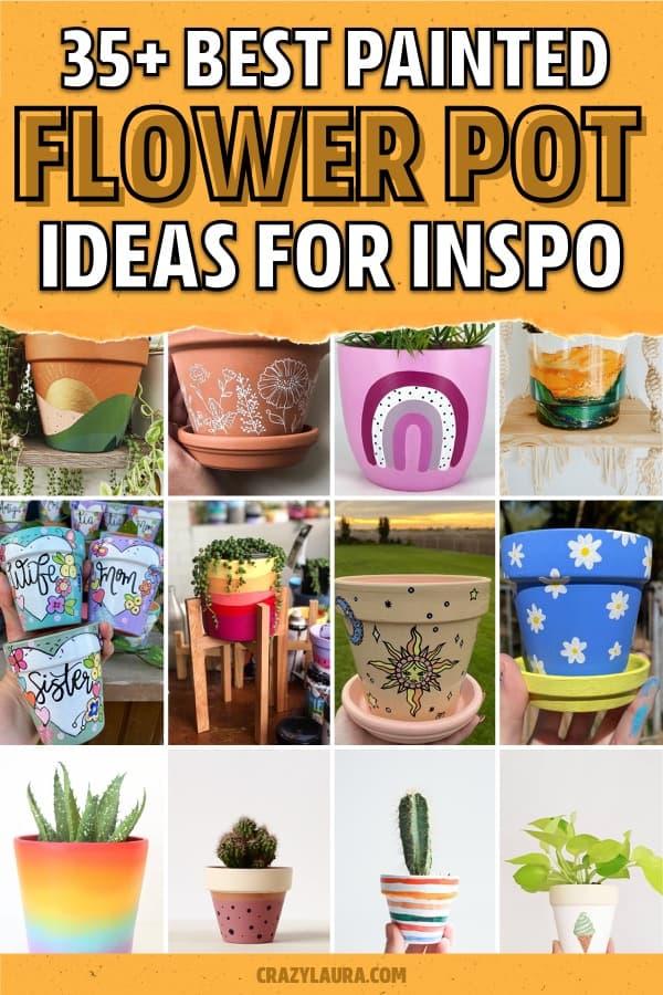 creative flower pot design ideas