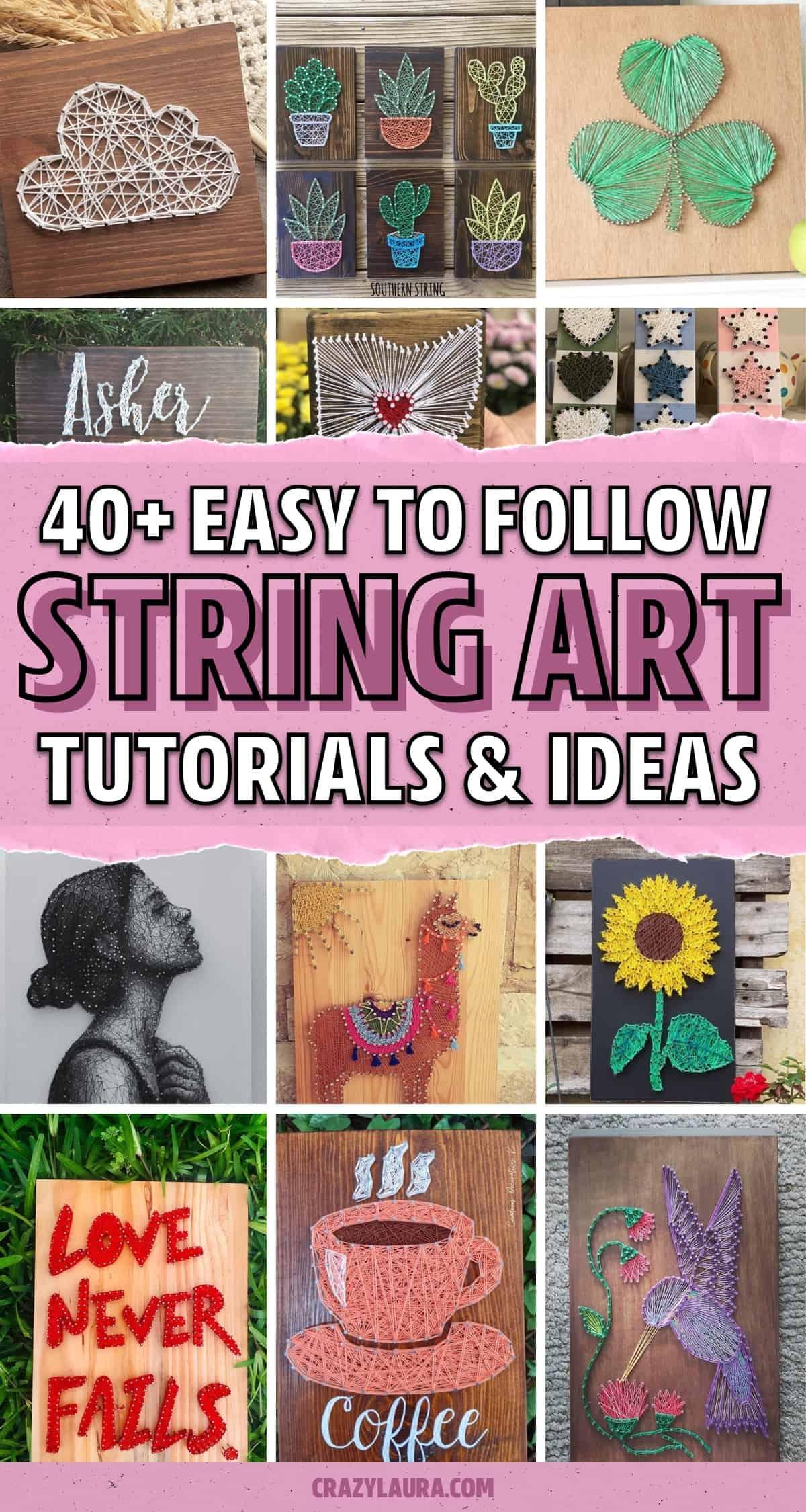 creative string art ideas