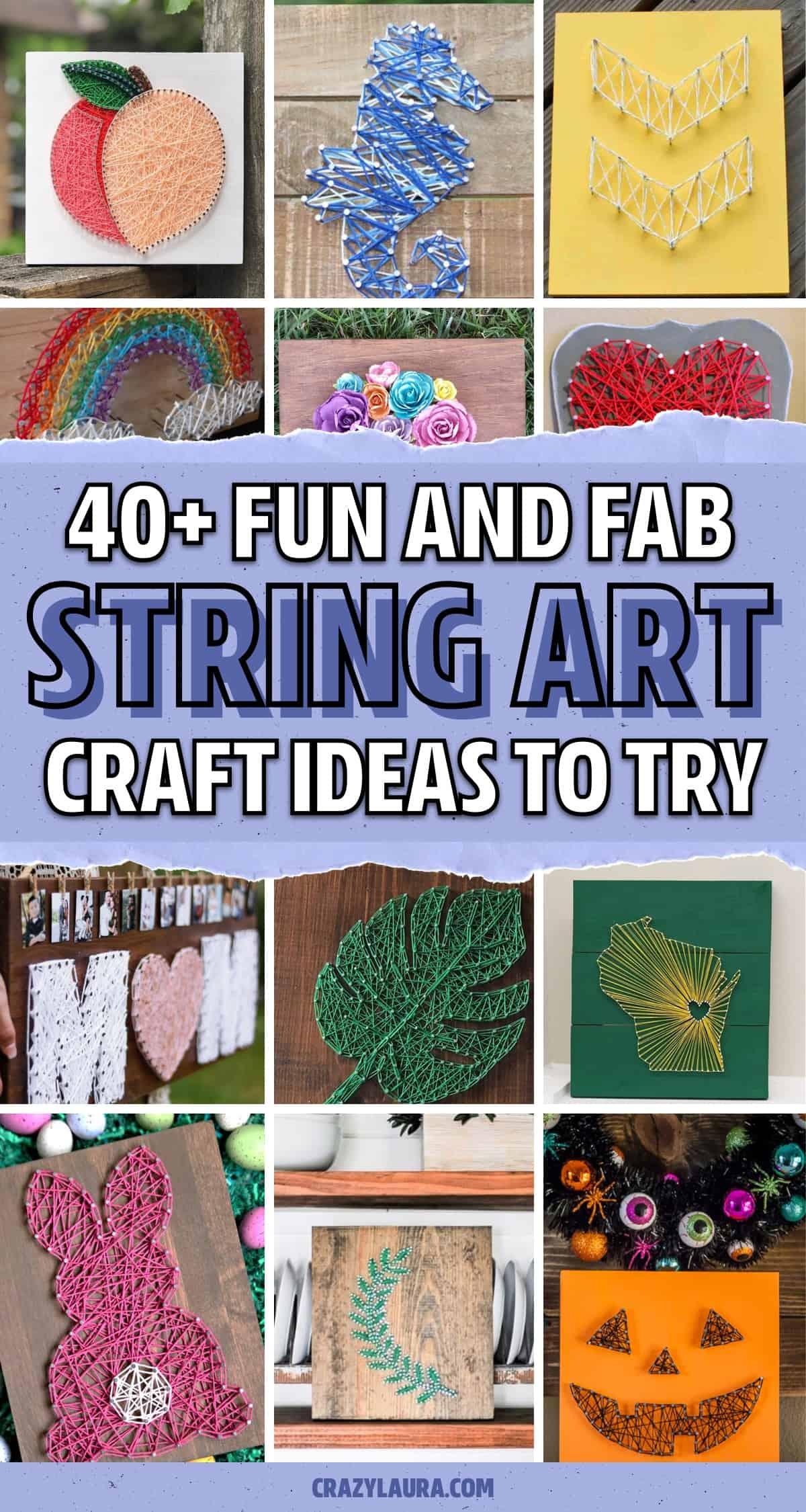 string art tutorials to follow