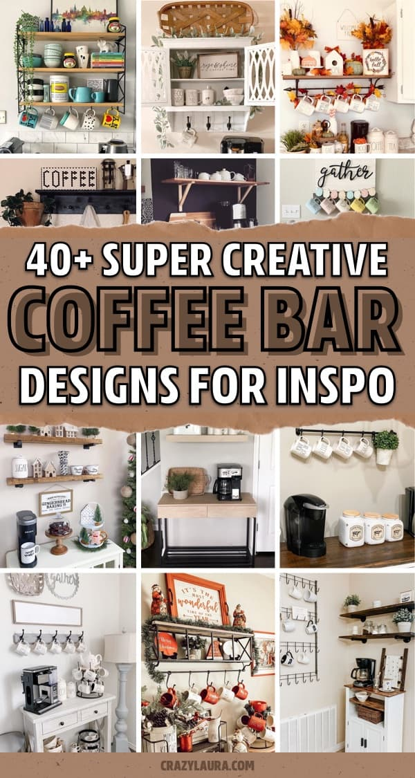 kitchen coffee stand designs