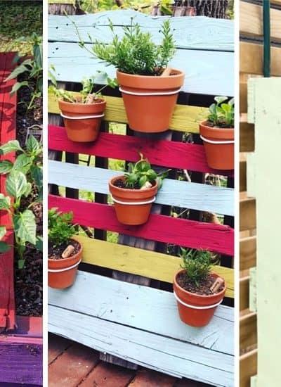 creative pallet garden diy examples