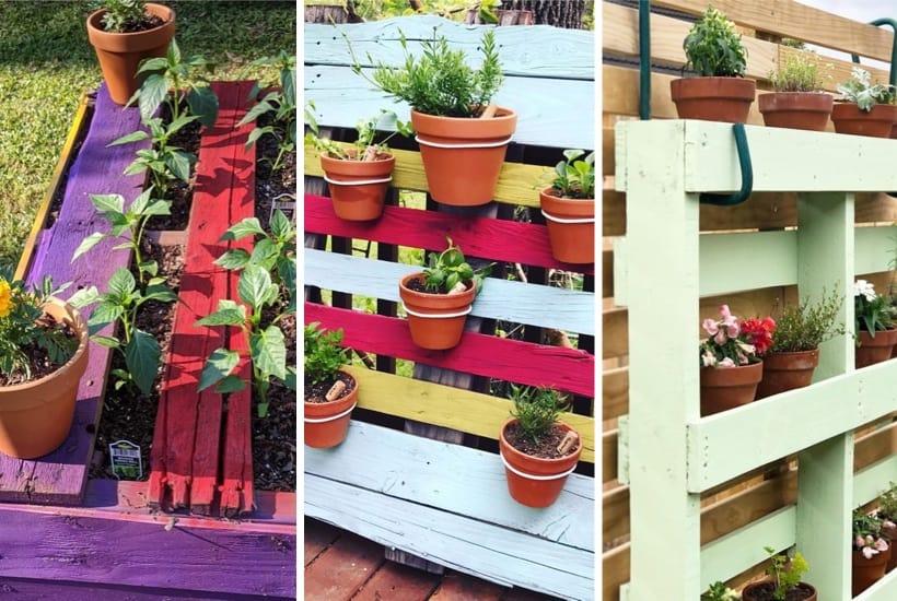35+ Best Pallet Garden Ideas & DIY Tutorials For 2021
