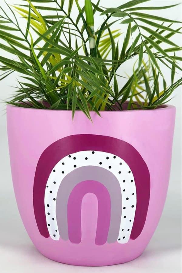 best boho painted flower pot inspiration